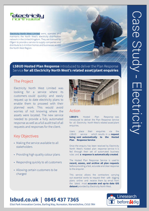 Electricity North West Case Study
