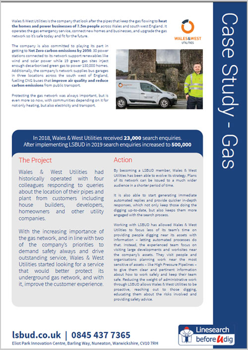Wales and West Case Study