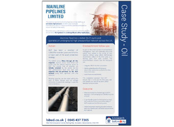 Mainline Pipelines Ltd Case Study