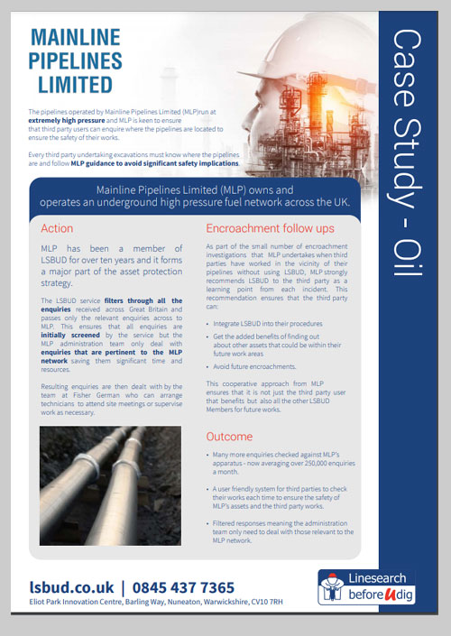 Mainline Pipes Case Study
