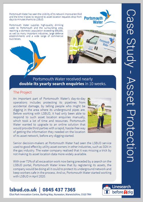 Portsmouth Water Case Studies