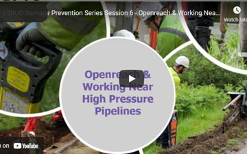 Session 6 – Openreach & Working Near High Pressure Pipelines with Tom Foord